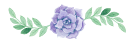 divisão de conteúdo em formato de flor